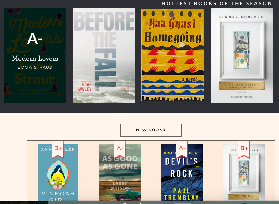Literary Hub's Book Marks Is Like Rotten Tomatoes for Books