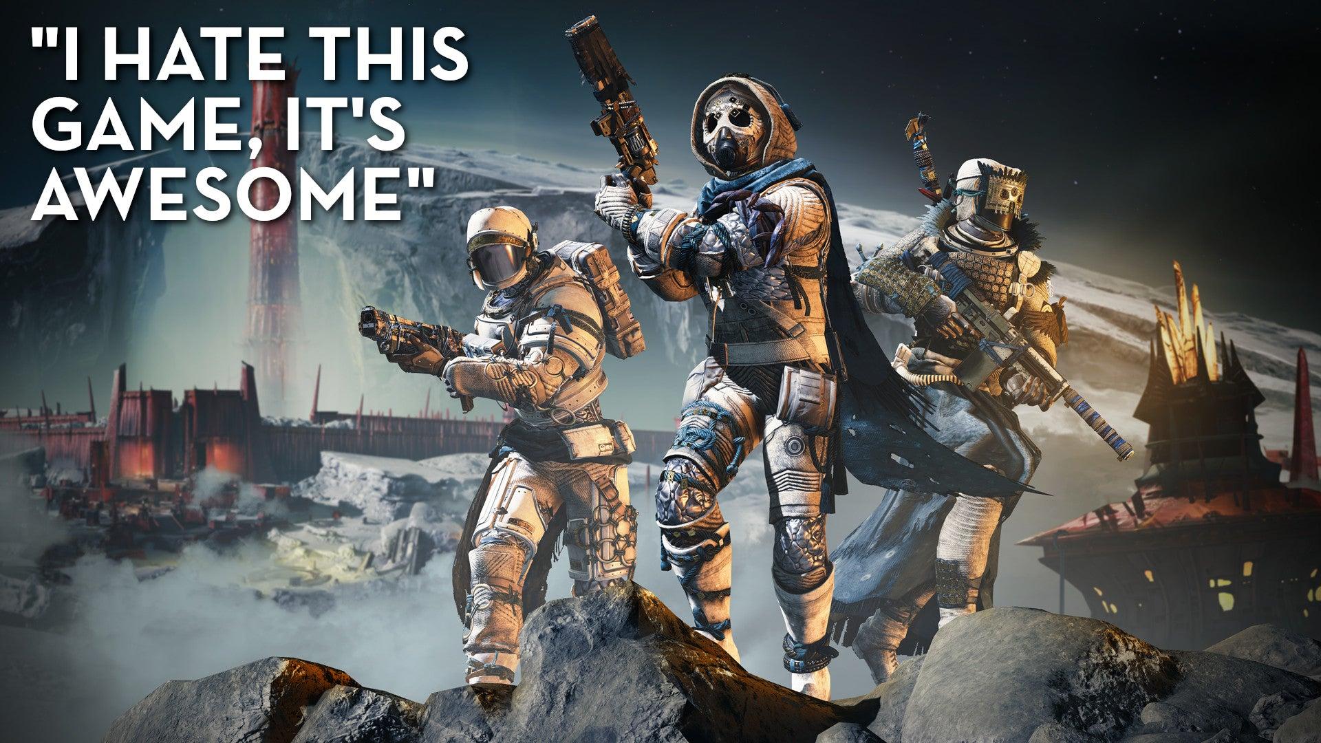 Destiny 2, As Told By Steam Reviews