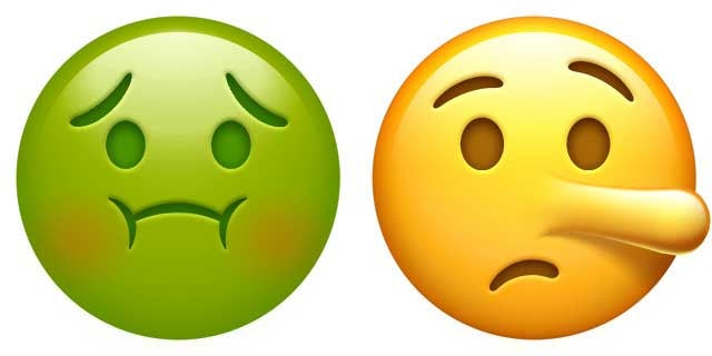 Emojipedia Has A Rundown Of All The New Emojis You Can Use I Personally Like Nauseated Face And Lying Expect Them Both To Be Frequent