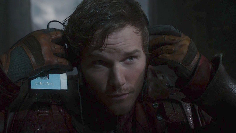 The Magnificent Zune Steals ThisGuardians Of The Galaxy Vol. 2 Deleted Scene