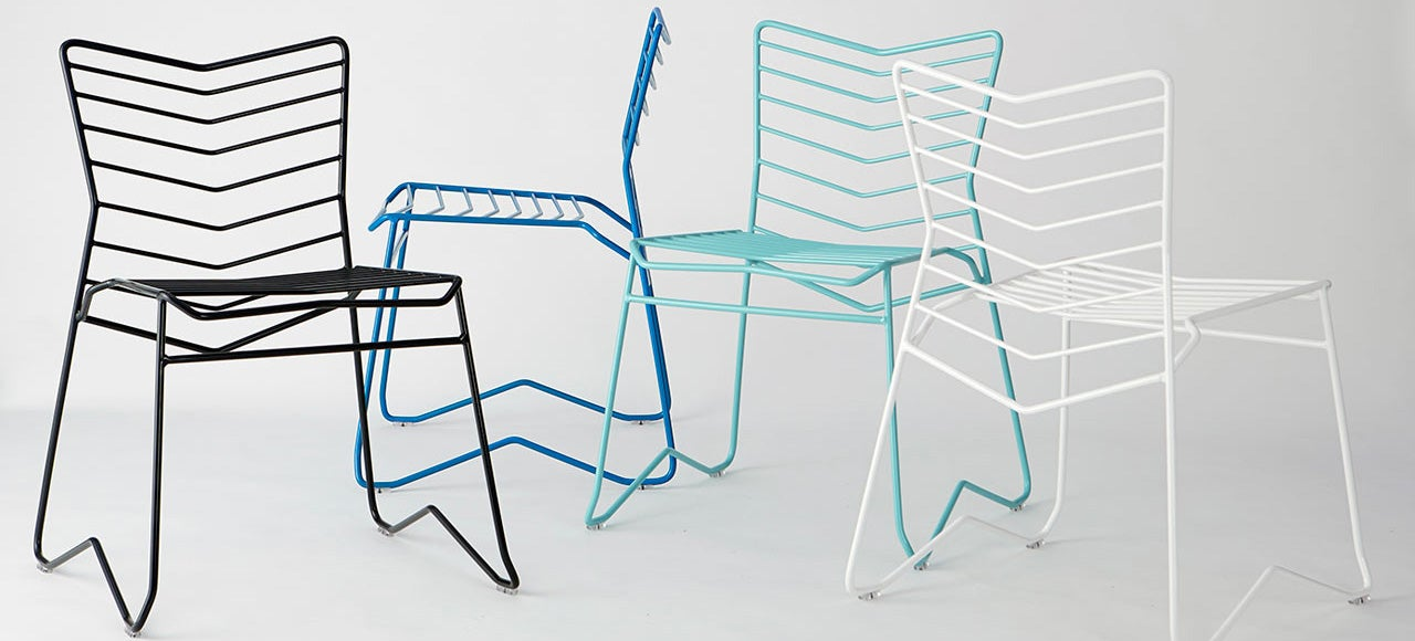 This Stackable Wire Chair Is Beautifully Simple