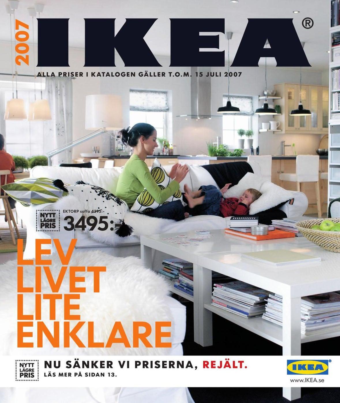Every ikea catalogue cover since 1951 gizmodo australia - Catalogo ikea 2007 ...