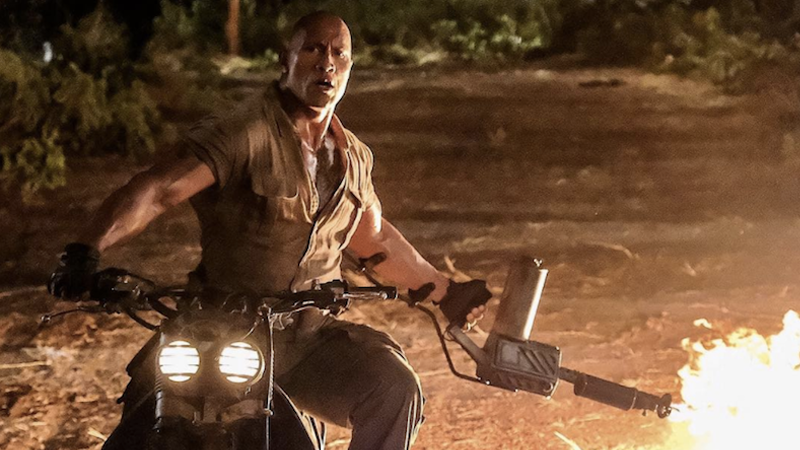 The First Footage From Jumanji Is Surprisingly Very Fun