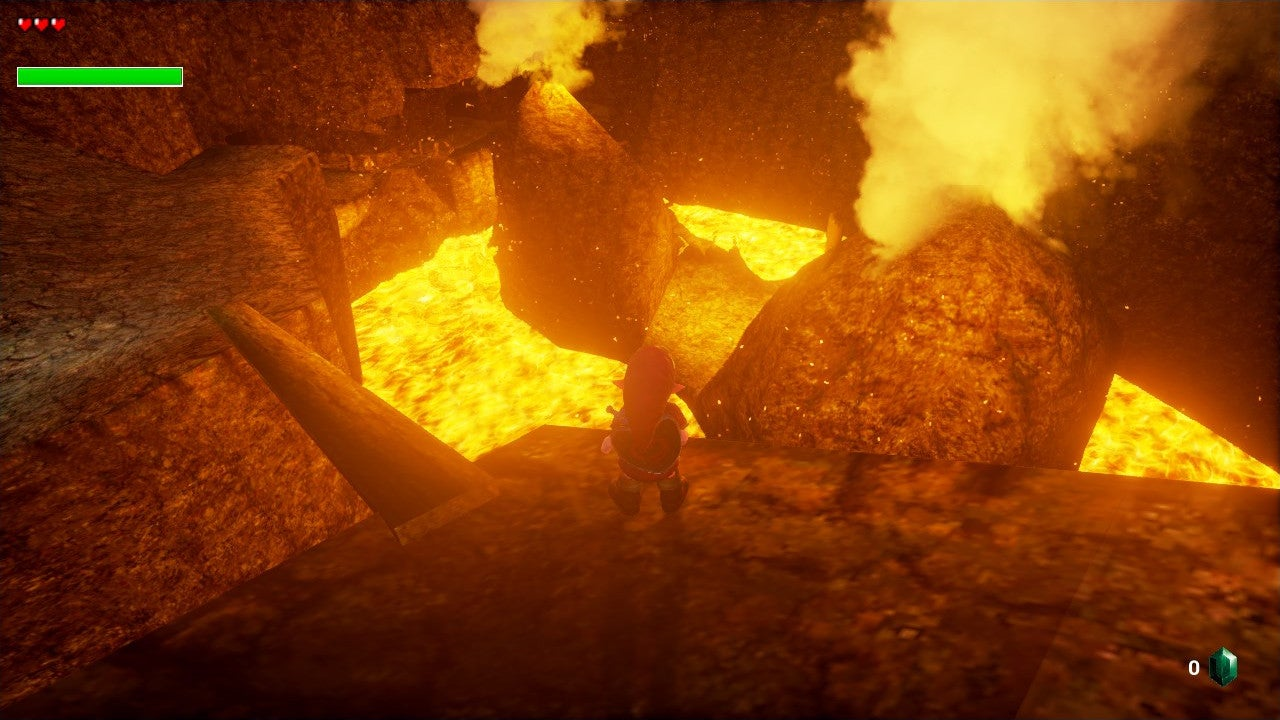 Not Even Unreal Engine 4 Can Tame The Fiery Depths of Death Mountain