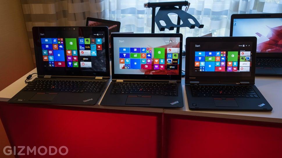 The Burliest Convertible Laptop Is Going Big