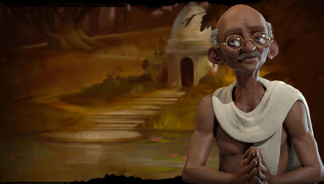 Gandhi Is Still An Arsehole In Civilization 6