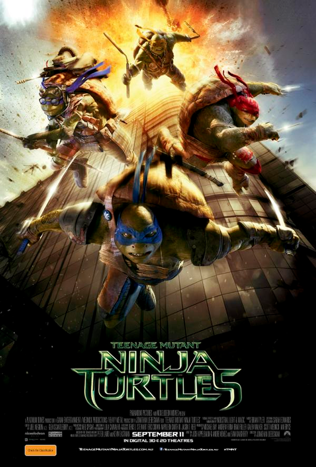 Teenage Mutant Ninja Turtles Poster Has an Unfortunate 9/11 Reference