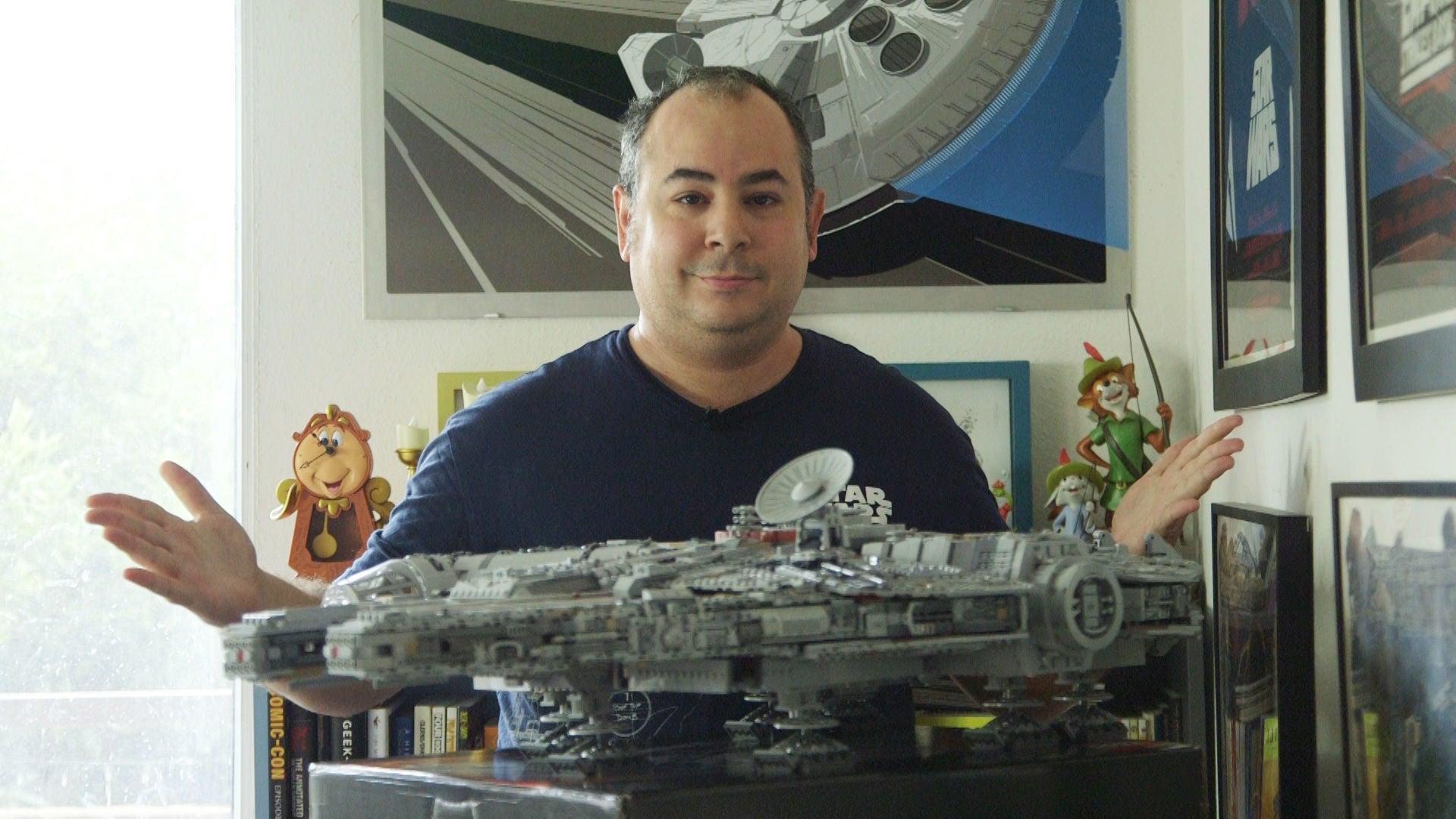 Massive 7500-Piece Millennium Falcon