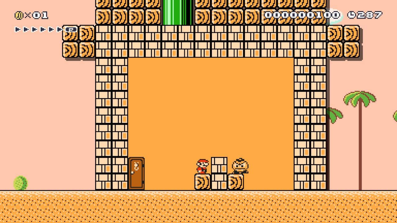 Mario Maker Level Locks You In A Room With A Goomba And Your Darkest Thoughts