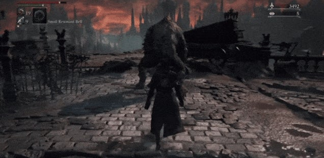 A Very Bloodborne Sneak Attack