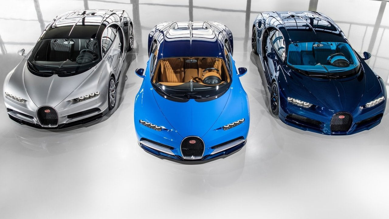 The Bugatti Chiron Was Almost A Hybrid And The Next One Definitely Will Be
