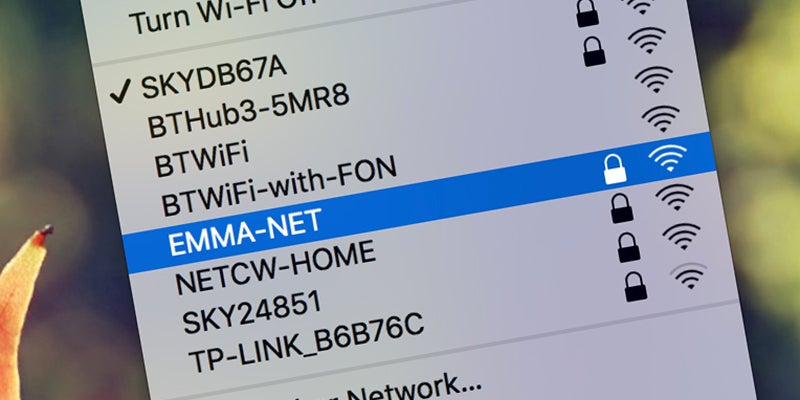 How to Prioritise (and Delete) Wifi Networks in OS X