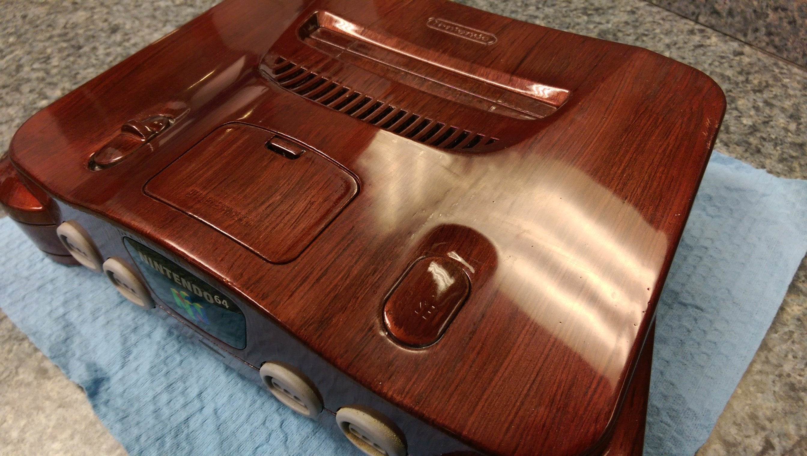 'Wooden' N64 Is Quaint As Hell