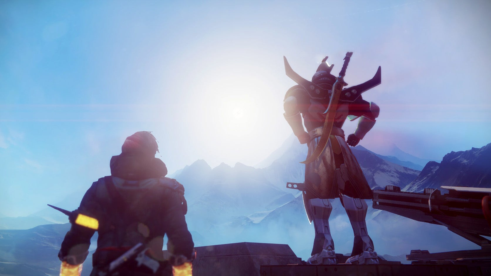 Destiny 2 Players Are Looking For A Giant Spaceship By Staring Directly Into The Sun