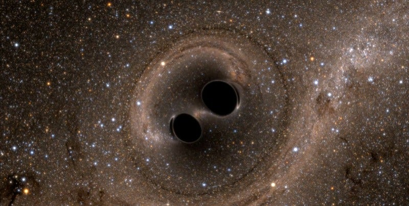 Black Hole Blues Gives A Ringside Seat To Discovery Of Gravitational Waves