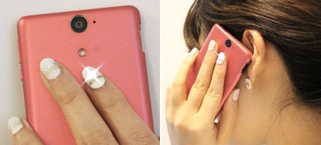 LED Fingernails That Actually Flash When An NFC Signal Is Nearby