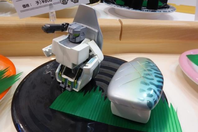Transforming Robot Toys Are Sushi in Disguise