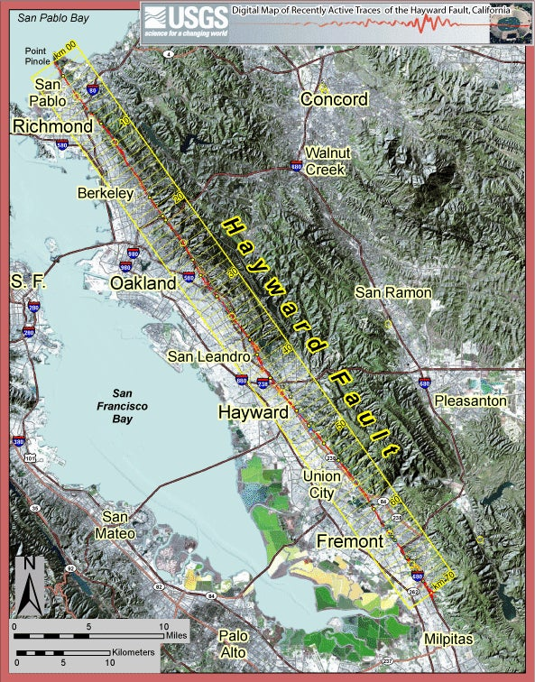 Earthquake Faults Around San Francisco Are Dangerously Interconnected