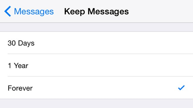 Clean Out All Your Old Text Messages On iOS And Android