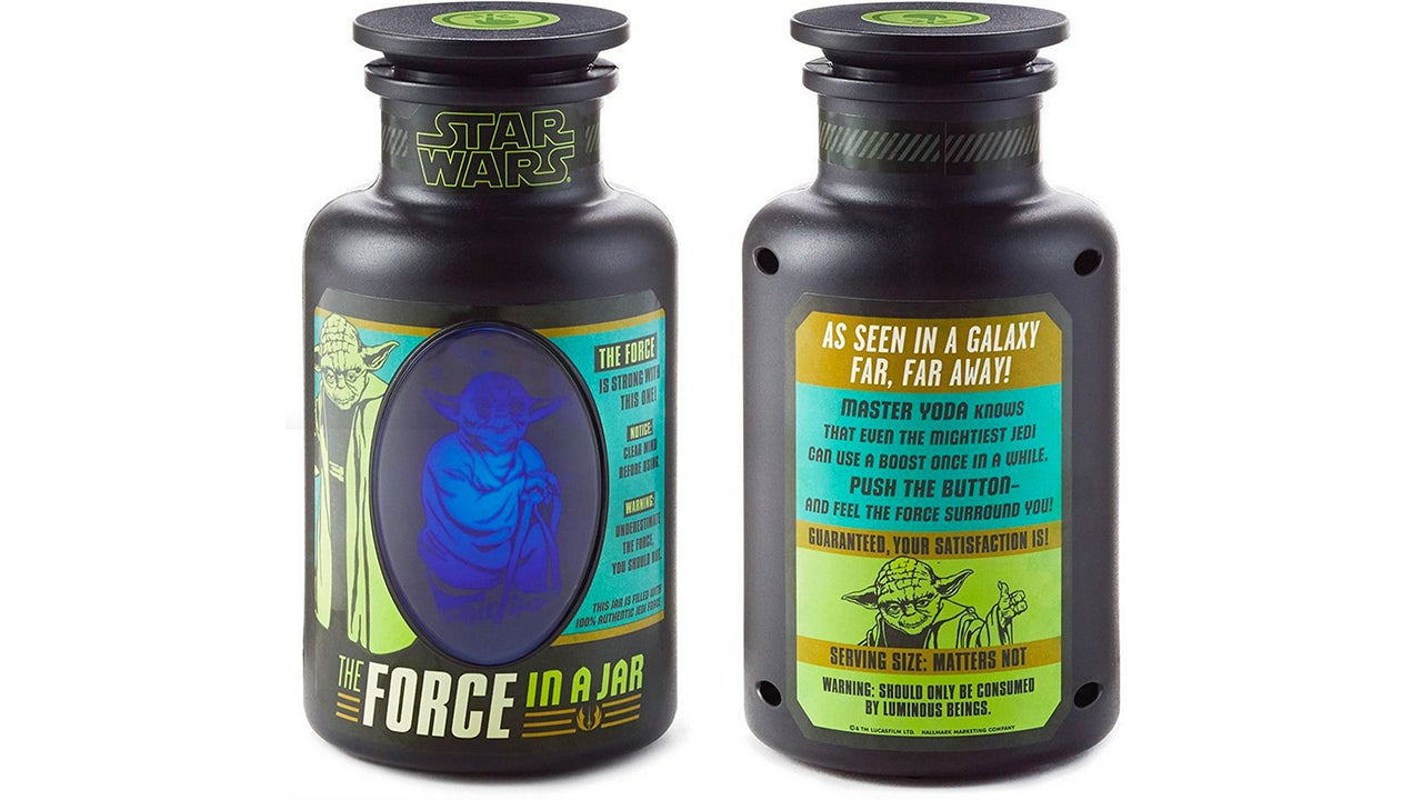 Always Wanted to Be a Jedi? You Can Now Buy the Force in a Jar