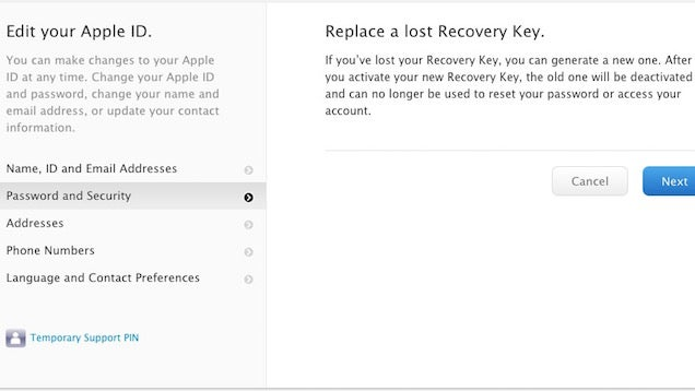 Replace a Lost Apple ID Recovery Key Before You're Locked Out