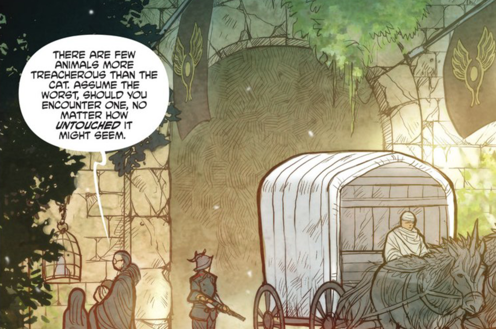 Monstress Has the Best Cat in Comics Right Now