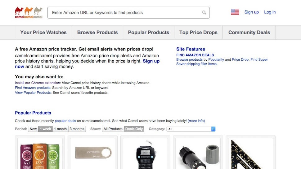 how to check amazon price history