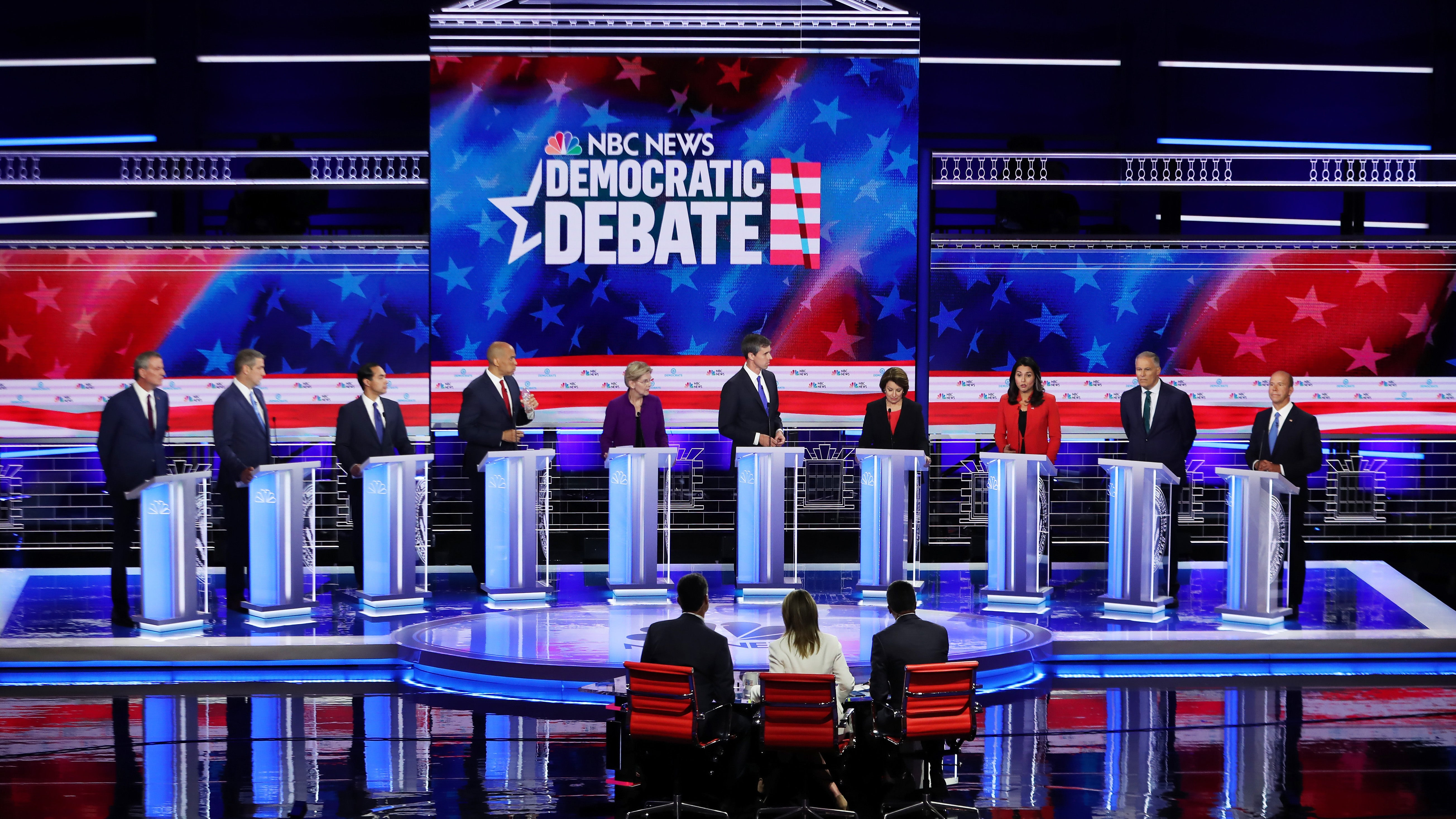 The Best And Worst Moments From Day One Of The U.S. Democratic Presidential Debates