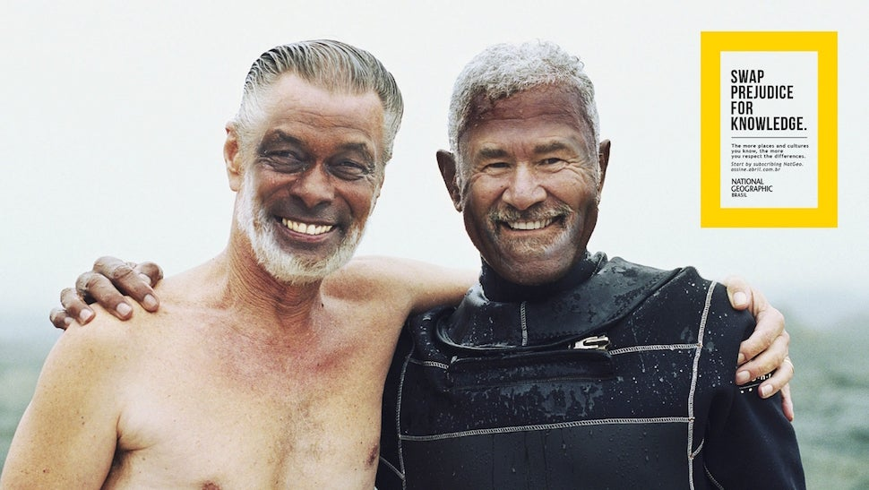National Geographic Launches Face Swap Campaign, What Could Possibly Go Wrong?