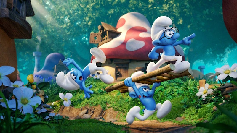 Wait, Are The Smurfs Hunting For Women In The Smurfs: The Lost Village Trailer?