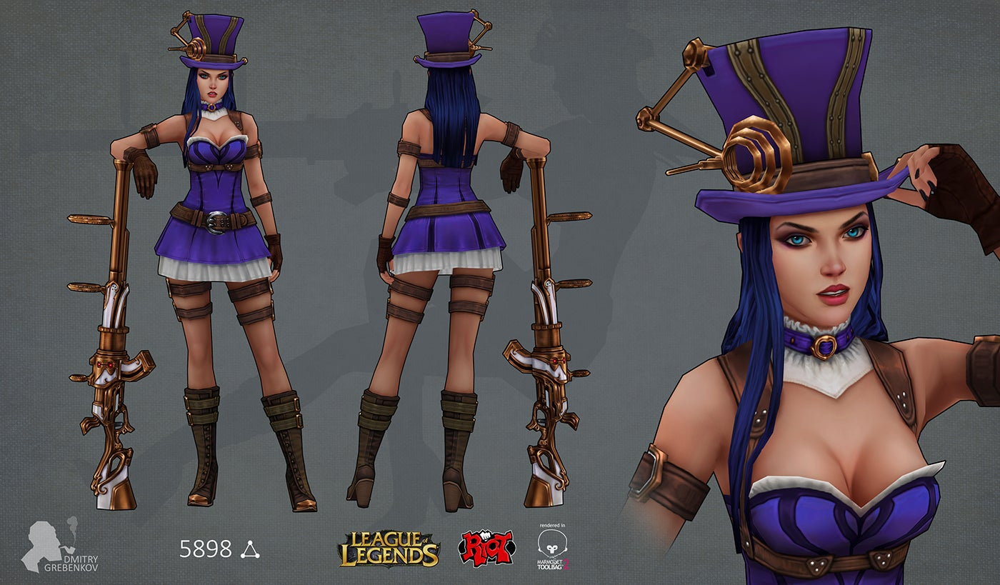 League Of Legends Characters & Art So Good They Should Be In The Game