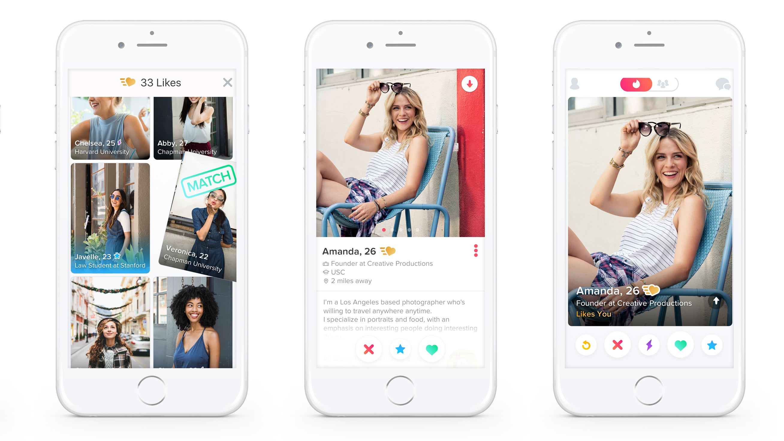 Tinder Gold Lets You See Who Has Liked You Before You Swipe