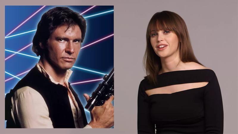 Felicity Jones Giving Star WarsCharacters Yearbook Superlatives Is The Joy We Needed Today
