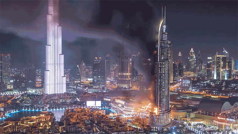 When Will Dubai Fix Its Burning Skyscraper Problem?