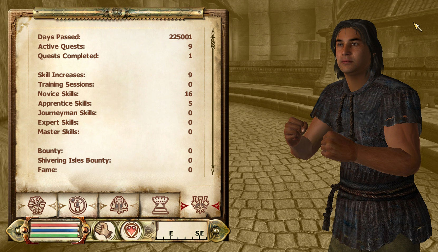 Elder Scrolls Player Casually Spends 600 Years In Prison