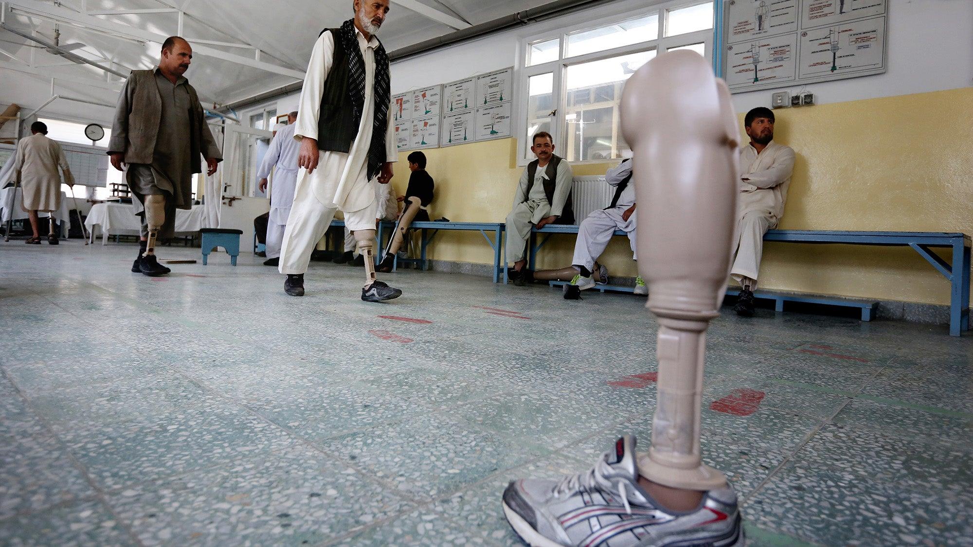 Inside Afghanistan's Prosthetics Center