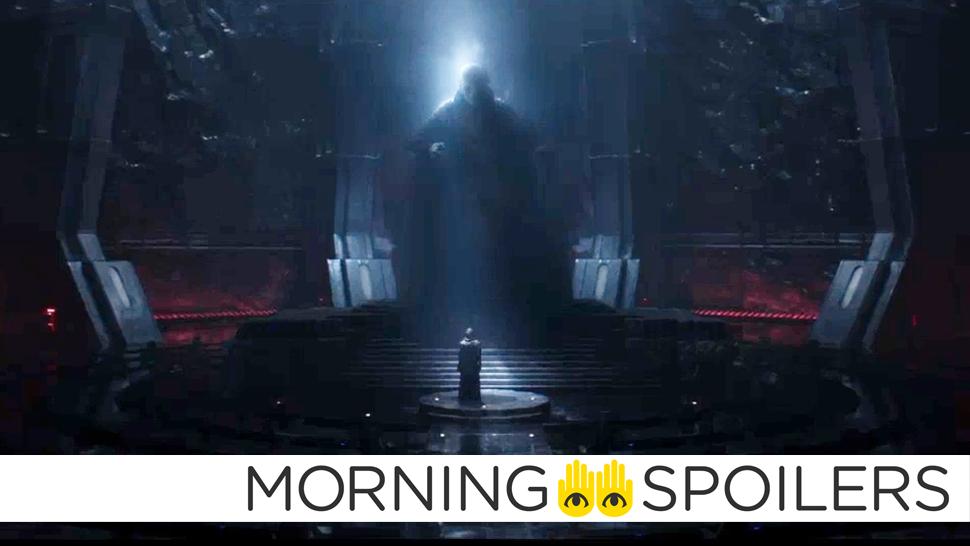 New Details About Supreme Leader Snoke's Appearance In Episode VIII