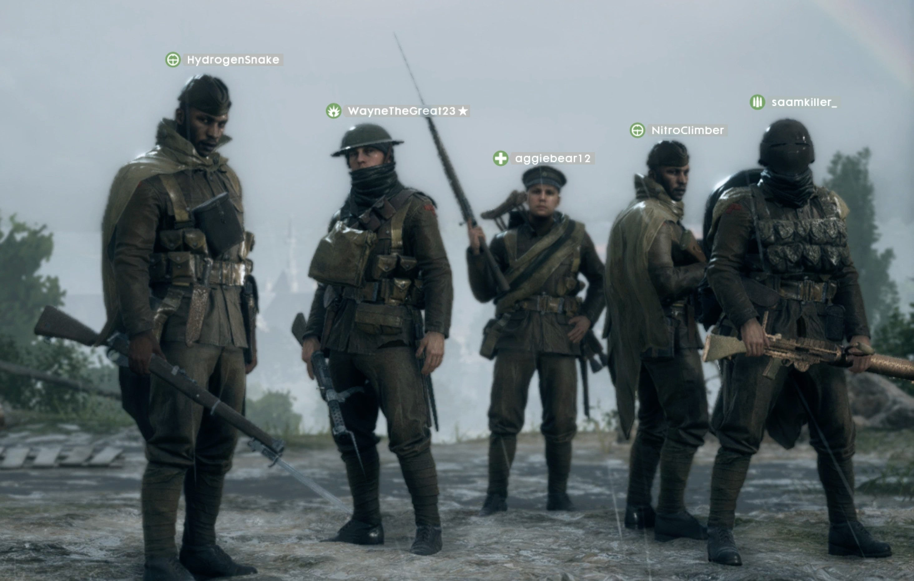 Some Battlefield 1 Players Are Sucky Squad Leaders