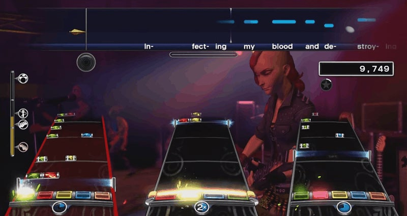 Rock Band 4 Adds Terrifying New 'Brutal' Mode
