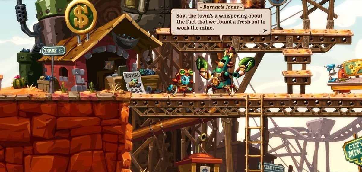 SteamWorld Dig 2 Is All About Finding Cool Stuff