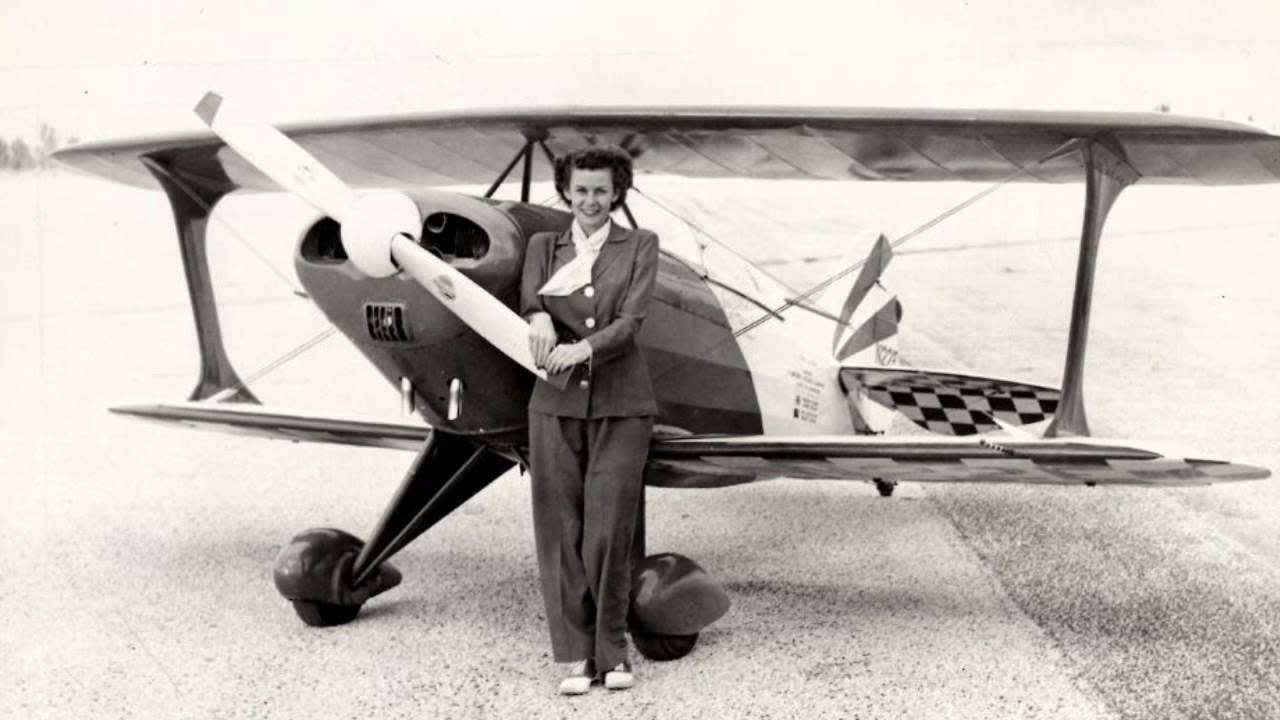 The 'First Lady Of Firsts' Set Over 400 World Records In Stunt Planes, Race Cars And Speed Boats