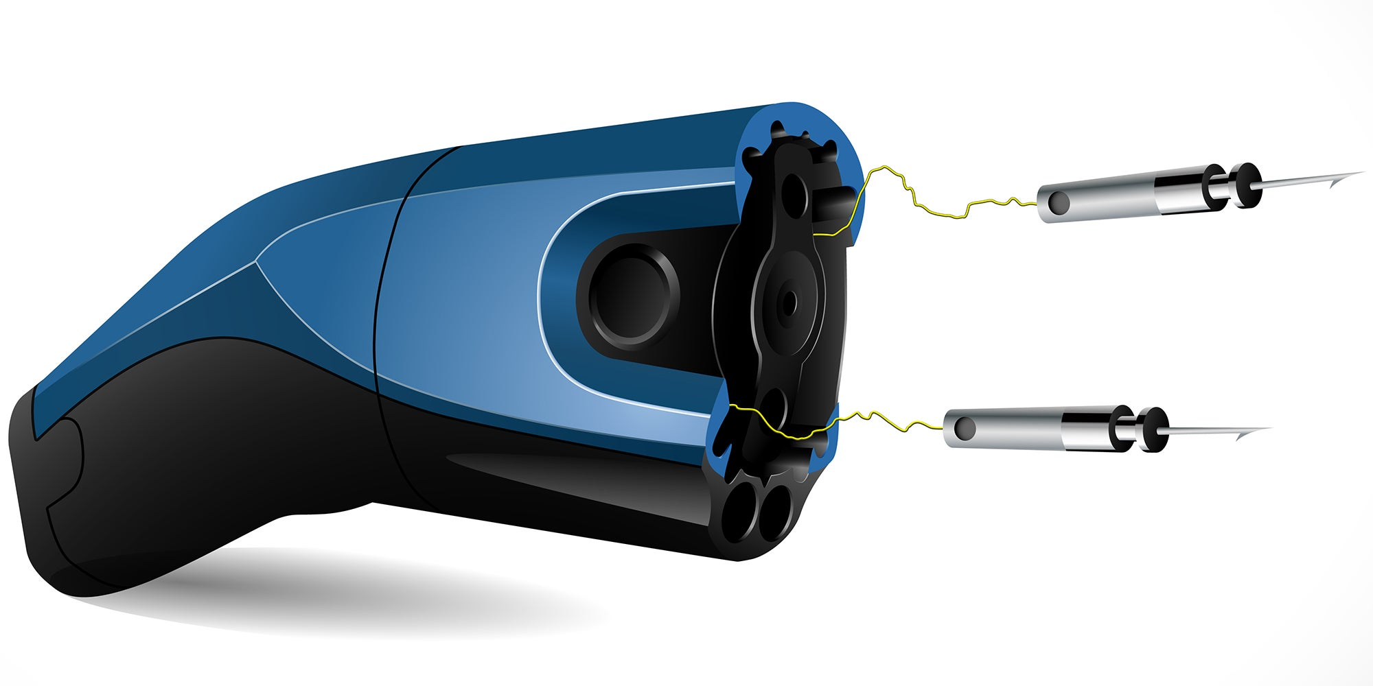 Someone Invented A Stun Gun That Monitors Heart Rates To Avoid Cardiac Arrest
