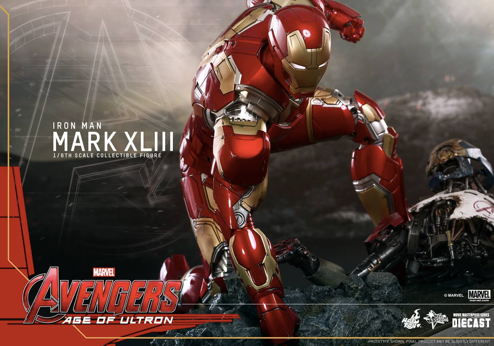 Hot Toys Just Gave Us a Peek At Iron Man's Avengers: Age of Ultron Armour