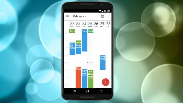 Google Calendar for Android Adds a 7-Day View, Pinch to Zoom, and More