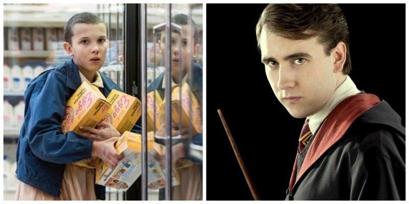 Neville Longbottom and Stranger Things' Eleven Have Something Special in Common