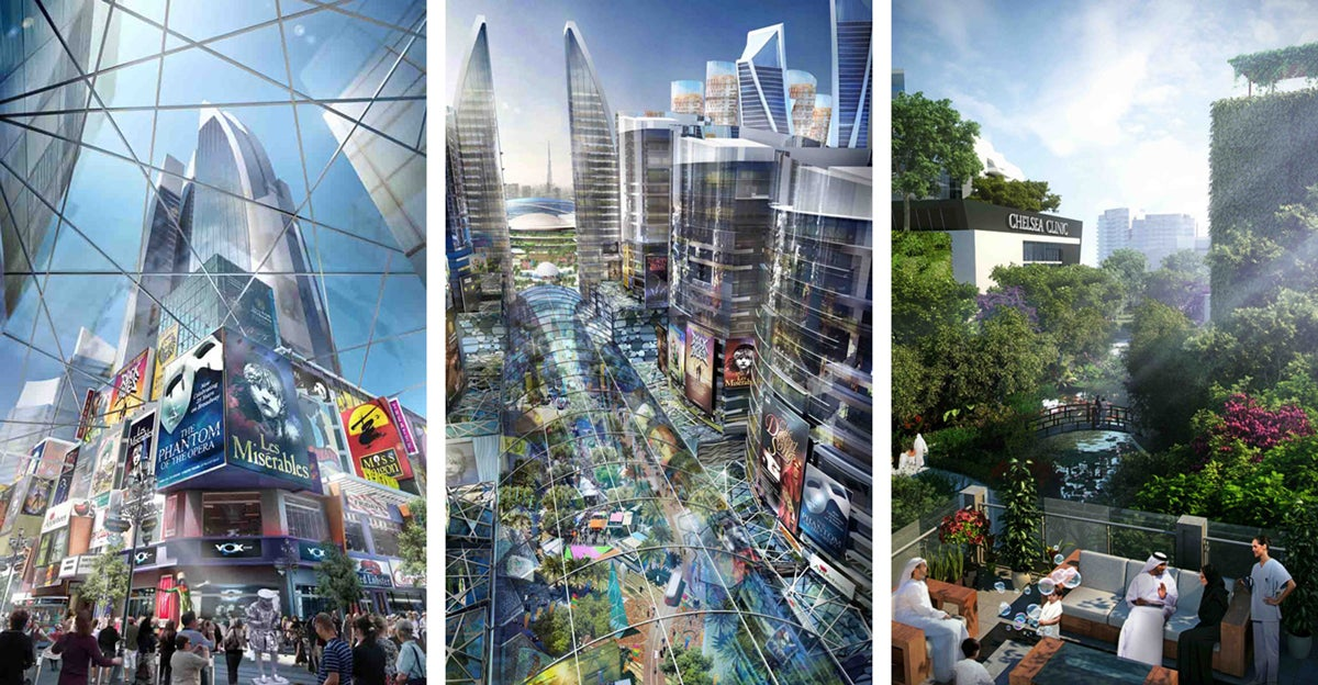 World's first climate-controlled neighbourhood to be built in Dubai