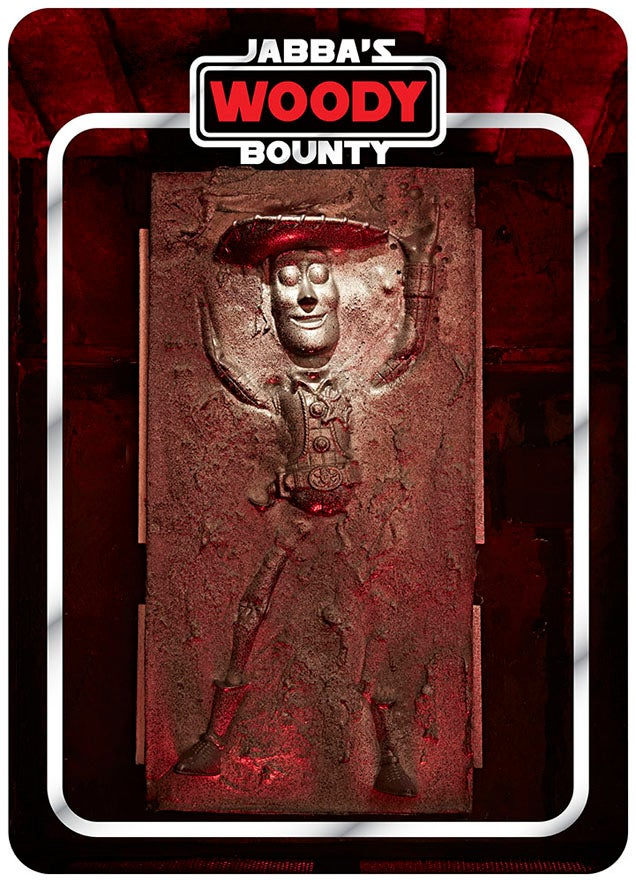Chocolate Carbonite Freezes More Than Just Han Solo
