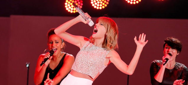 Taylor Swift Put All Her Music On Jay-Z's Pet Streaming Service