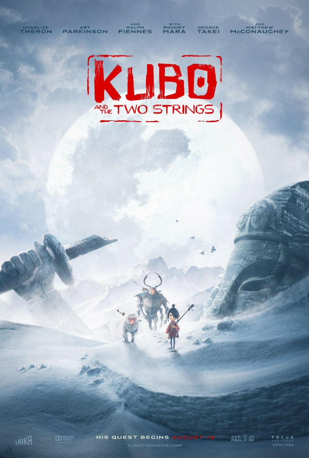 The Adventure Is Bigger Than Ever in the Last Kubo and the Two Strings Trailer