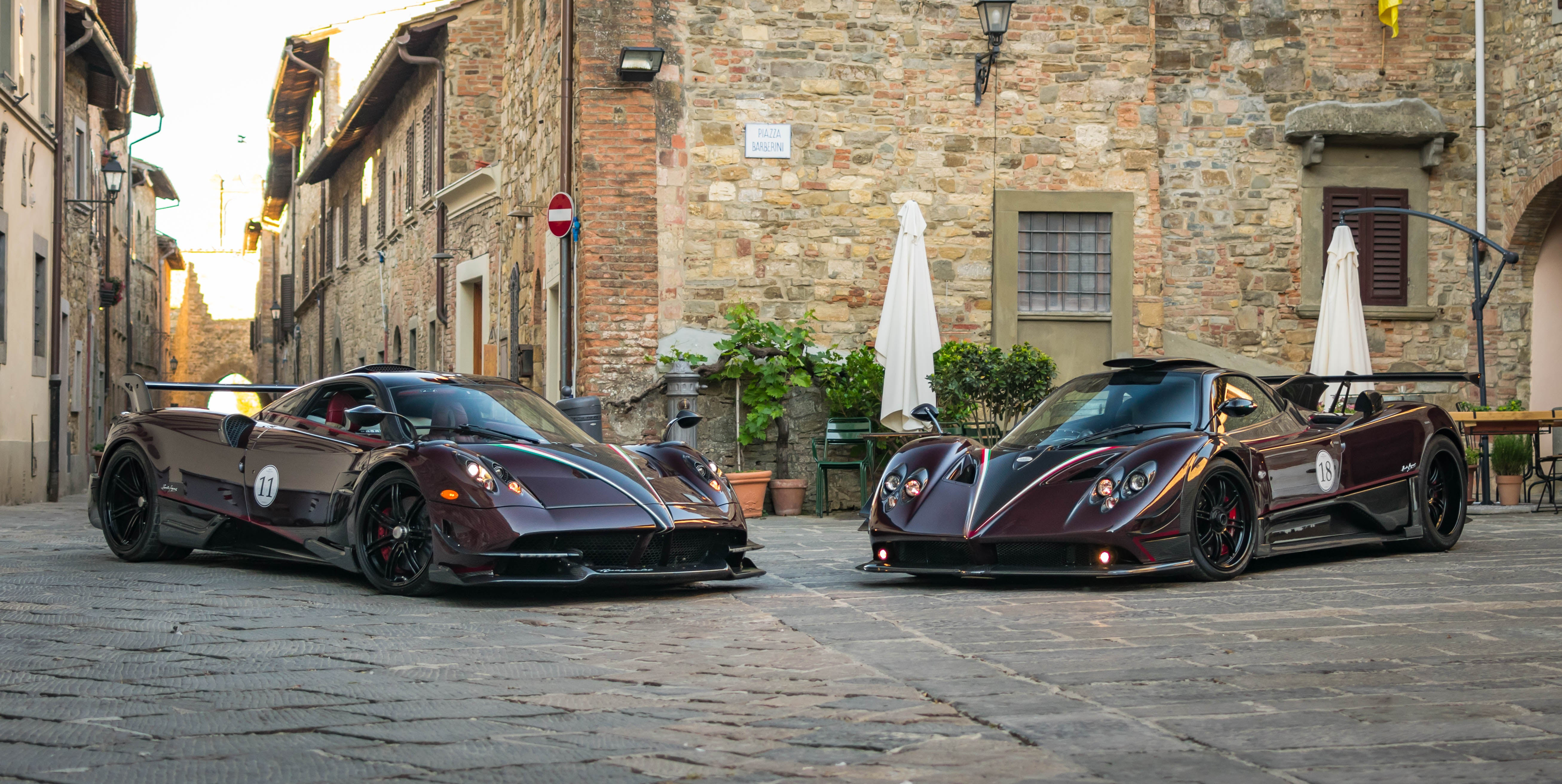 A Pagani Rally In Italy Puts All Other Car Meets To Shame   Gizmodo